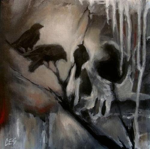 """""""Murder"""" original fine art by ~ces~ Christine E. S. Code"""