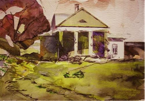 """Ole Homestead"" original fine art by Katie Wilson"
