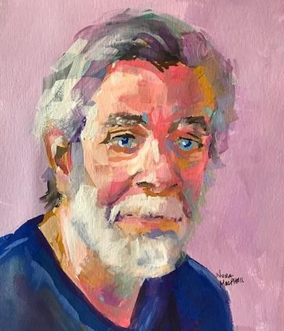 """older and wiser"" original fine art by Nora MacPhail"
