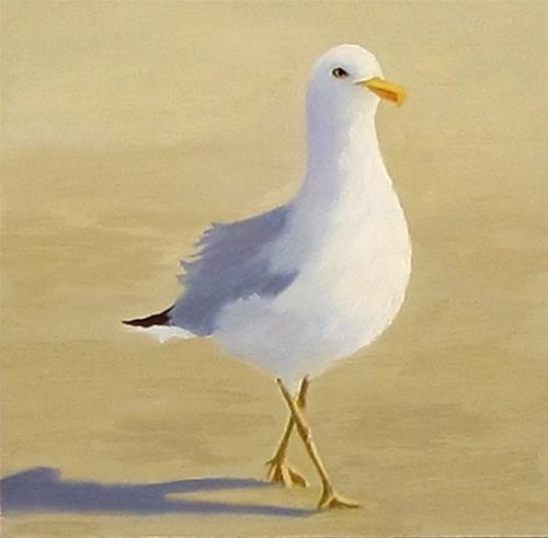 """""""Sunday Stroll"""" original fine art by Karen Johnston"""
