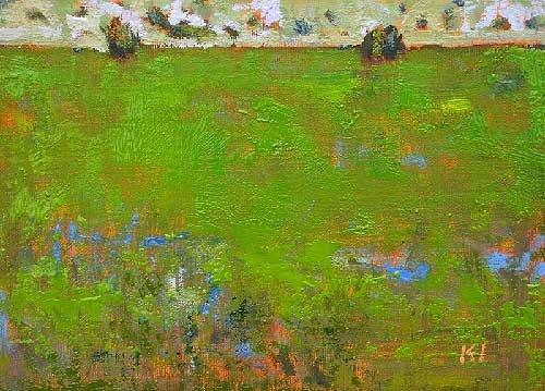 """""""Field, Boise"""" original fine art by Kevin Inman"""