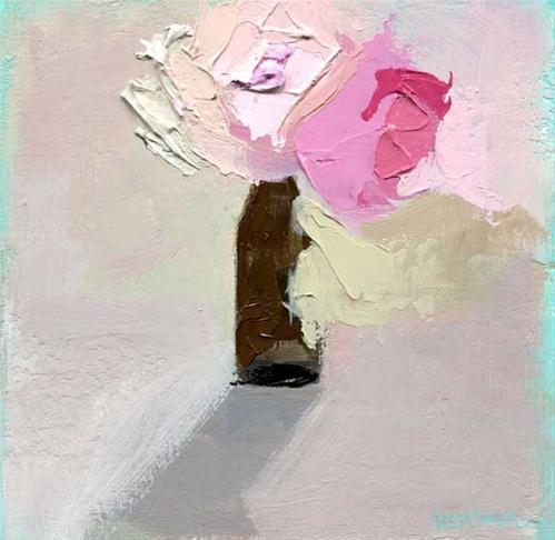 """Shabby"" original fine art by Heather Bennett"