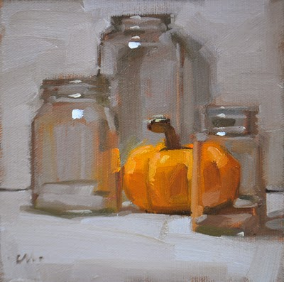 """""""Transparent View"""" original fine art by Carol Marine"""