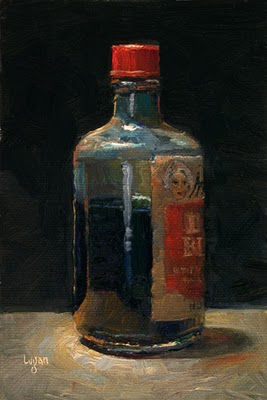 """Mrs. Stewart's Liquid Bluing"" original fine art by Raymond Logan"