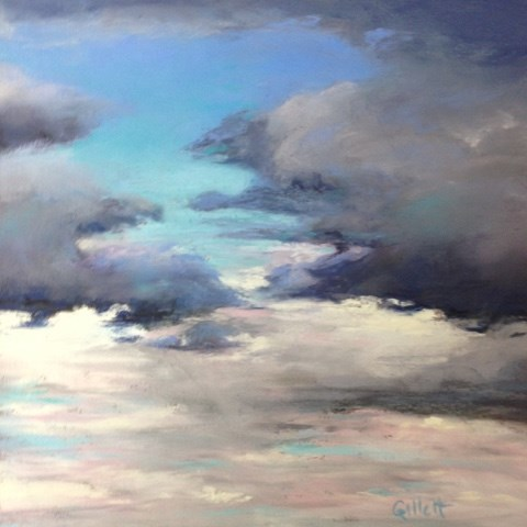 """""""The Clearing"""" original fine art by Cindy Gillett"""
