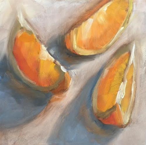 """""""I Ate Them 477"""" original fine art by Laura  Buxo"""