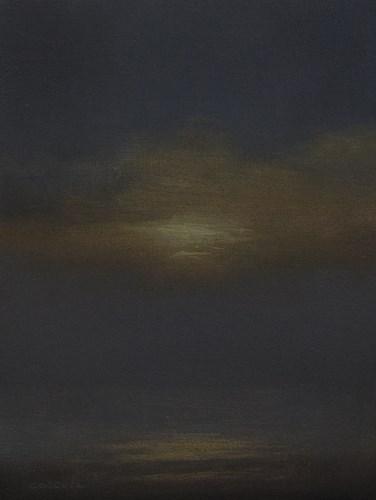 """""""Sunset Study 1"""" original fine art by Neil Carroll"""