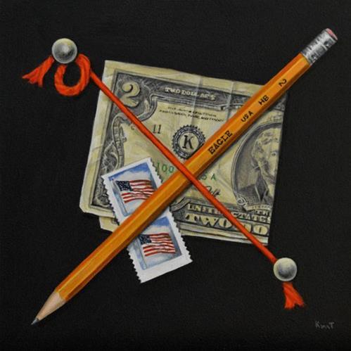 """""""It Takes Two"""" original fine art by Kim Testone"""