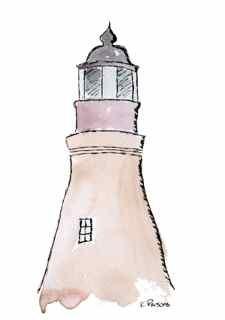 """""""Port Isabel Lighthouse"""" original fine art by Kali Parsons"""
