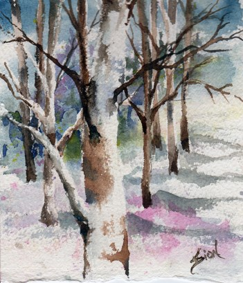 """""""The Stand"""" original fine art by Sue Dion"""