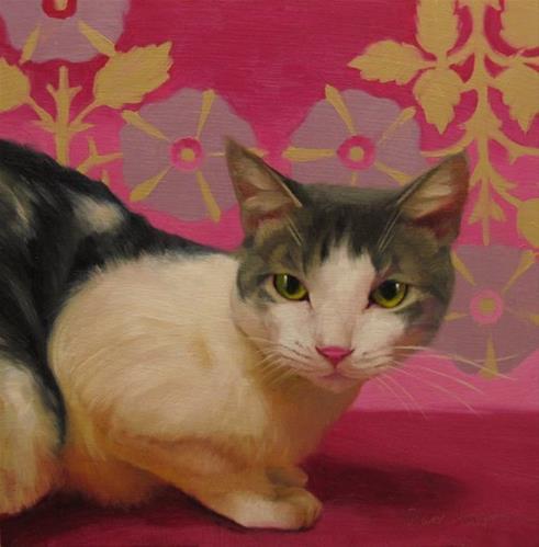 """""""Penelope"""" original fine art by Diane Hoeptner"""