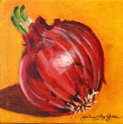 """Soup Starter"" original fine art by JoAnne Perez Robinson"