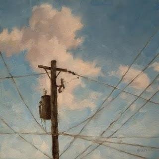 """Electric Highway"" original fine art by Michael Naples"