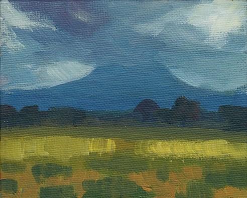 """""""Head in the Clouds"""" original fine art by J M Needham"""