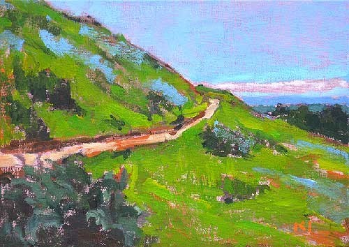 """Boise Landscape"" original fine art by Kevin Inman"