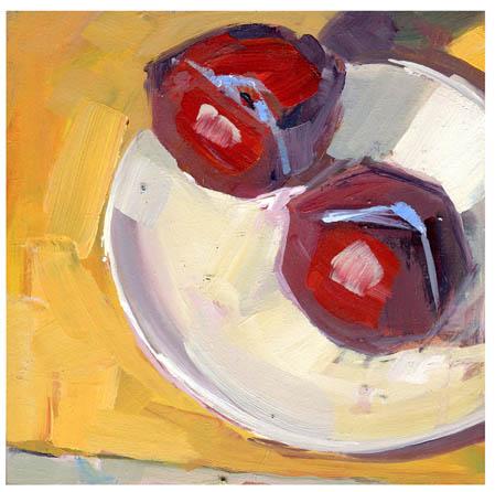 """#813 Pleasant Notion"" original fine art by Lisa Daria"
