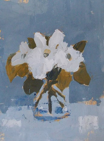 """Sweet Magnolias"" original fine art by Pamela Munger"