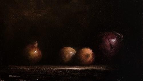 """Onions"" original fine art by Neil Carroll"
