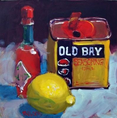 """Spices"" original fine art by Rick Nilson"