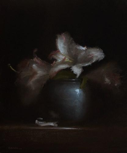 """""""Lilies"""" original fine art by Neil Carroll"""