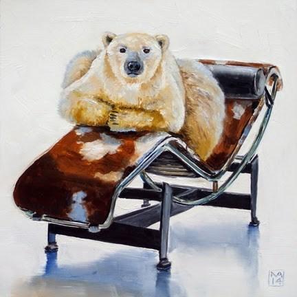 """got ice?"" original fine art by Kimberly Applegate"