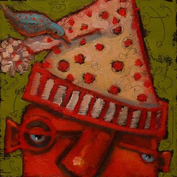 """Elfin Burnout"" original fine art by Brenda York"