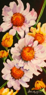 """Fresh as a Daisy"" original fine art by JoAnne Perez Robinson"