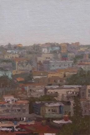 """Havana Cityscape (Cuba 2012 - painting #5)"" original fine art by Abbey Ryan"