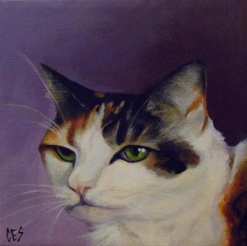 """""""Commissioned Pet Portrait: Ballet"""" original fine art by ~ces~ Christine E. S. Code"""