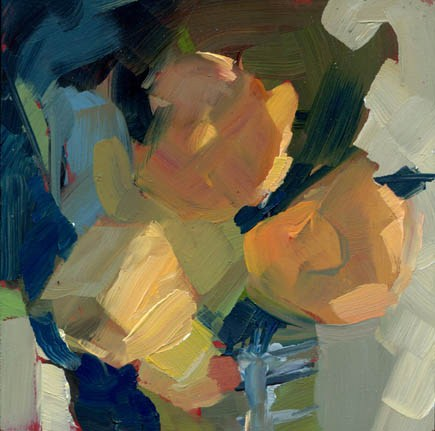 """""""1226 Simply Smart (milk)"""" original fine art by Lisa Daria"""