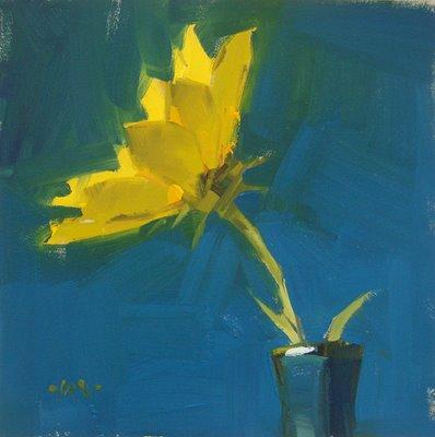 """Into the Light --- SOLD"" original fine art by Carol Marine"