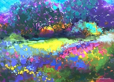 """The View From Ireland - Nancy Medina Art"" original fine art by Nancy Medina"