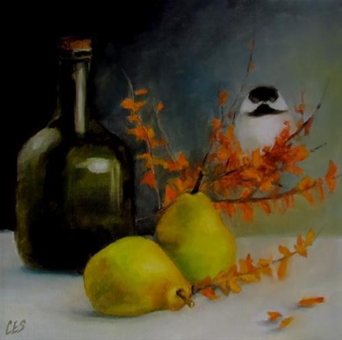 """Autumn Ensemble"" original fine art by ~ces~ Christine E. S. Code"