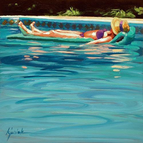 """Borrowed Time"" original fine art by Karin Jurick"