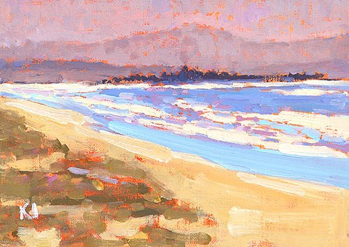 """Coronado Plein Air"" original fine art by Kevin Inman"