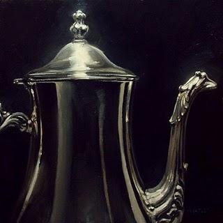 """""""Teapot"""" original fine art by Michael Naples"""