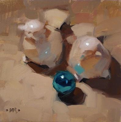 """Is Anybody Looking?"" original fine art by Carol Marine"