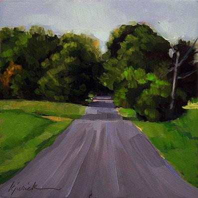 """Lost In Alabama"" original fine art by Karin Jurick"