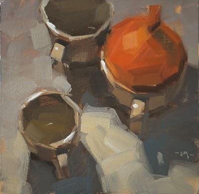 """Mugion - nfs"" original fine art by Carol Marine"