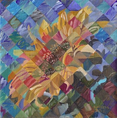 """Sunflower No. 8"" original fine art by Randal Huiskens"