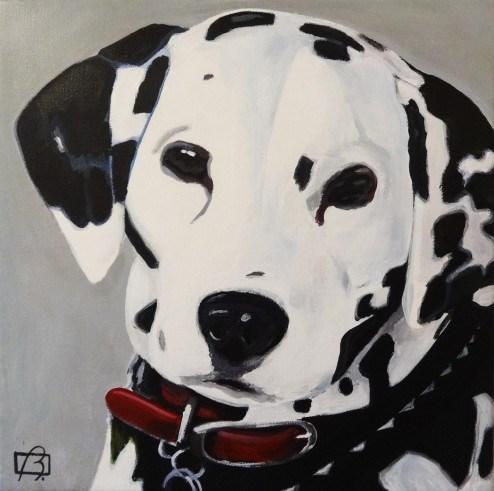 """Darcy"" original fine art by Andre Beaulieu"
