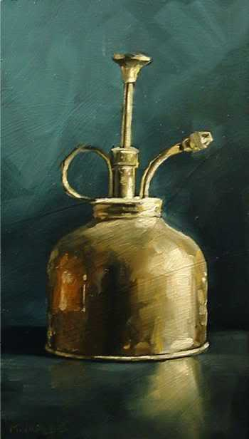"""Golden"" original fine art by Michael Naples"