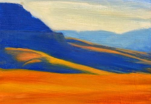 """""""Start of the Canyon"""" original fine art by Carolyn Caldwell"""