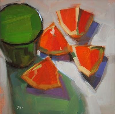"""Juicyness"" original fine art by Carol Marine"