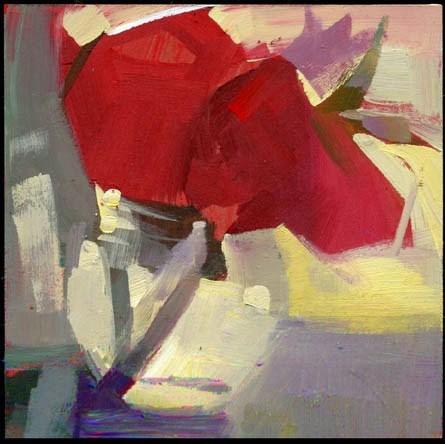 """1940 Streamline"" original fine art by Lisa Daria"