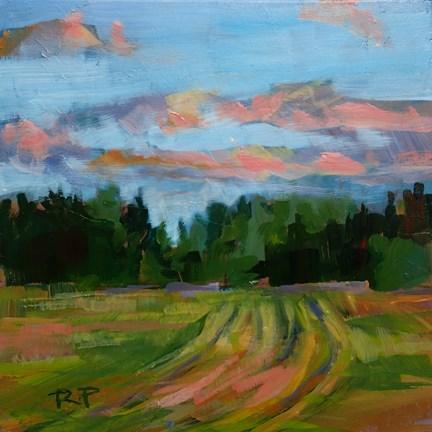 """Summer Pasture"" original fine art by Robin Peterson"
