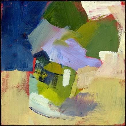 """""""2140 boxed"""" original fine art by Lisa Daria"""