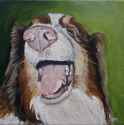 """""""Oz Moses"""" original fine art by Heather Sims"""
