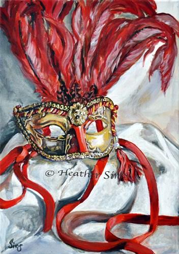 """Carnival"" original fine art by Heather Sims"