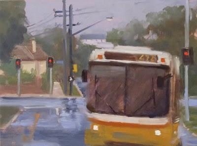 """BUS 472 - #2"" original fine art by Helen Cooper"